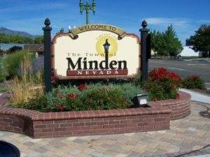 Town of Minden Sign