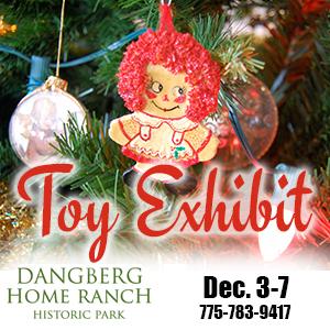 Danberg Home Ranch Toy Exhibit December 3-7