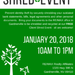 You're Invited to Our Shred Event!